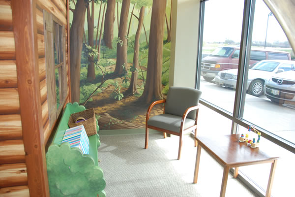 Walnut Creek Pediatric Dentistry reception area
