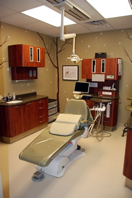 Walnut Creek Pediatric Dentistry exam room
