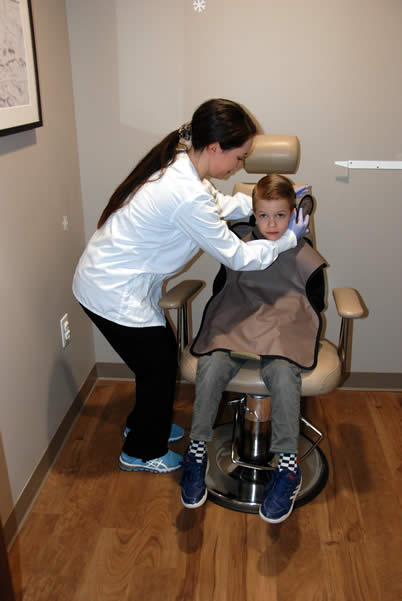 Walnut Creek Pediatric Dentistry xrays